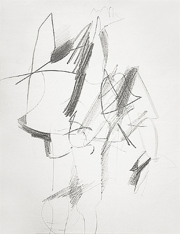 standing figure by willem de kooning