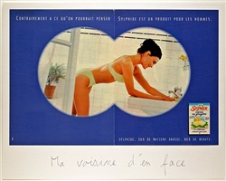 ma voisine d'en face by claude closky