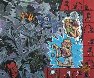 i have studied the half-rat on the street of fugitive angles by robert williams