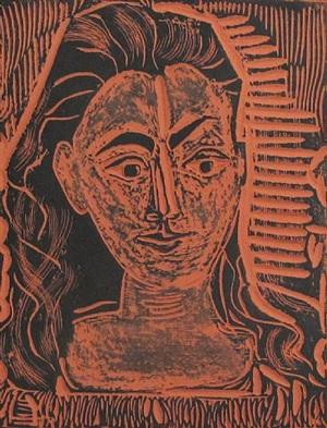 petit buste de femme (a.r. 523) by pablo picasso