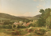 early landscape by william m. hart