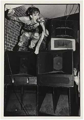 26 punk photos: 11. roz speaks: negative trend, january 29, 1978 by bruce conner