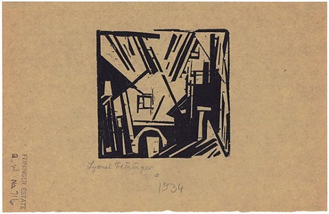 hafendock (harbor dock) by lyonel feininger