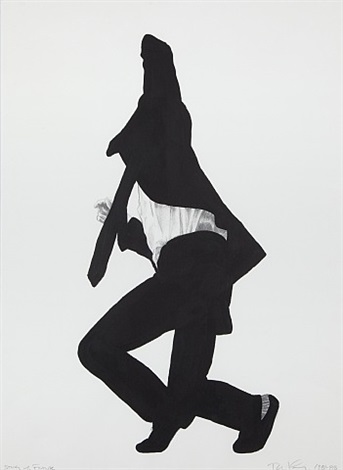 untitled (men in the cities) by robert longo