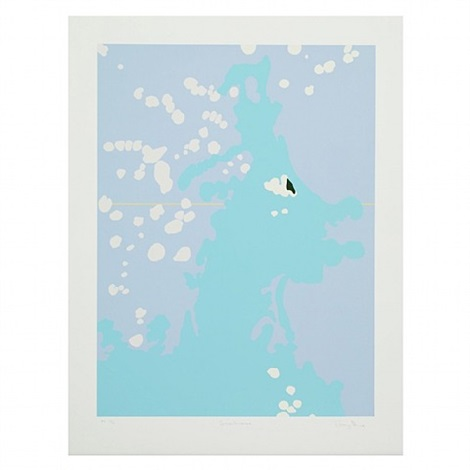 seahorse by gary hume
