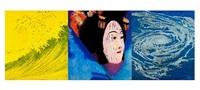 tsunami triptych by rupert garcia