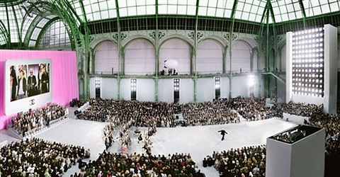 chanel couture - spring/summer 2006, paris – le grand palais by simon procter