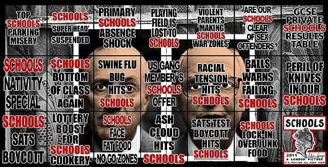 schools by gilbert & george