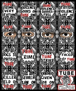 tube by gilbert & george