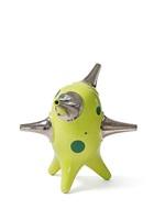 green standing object #2 by michael geertsen