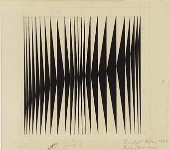 bridget riley works 1960 - 1966 by bridget riley