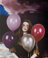 gloomy balloons by marnie weber