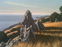 sentinel rocks by david ligare