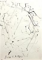 kimmeridge drawing #5 by john beech