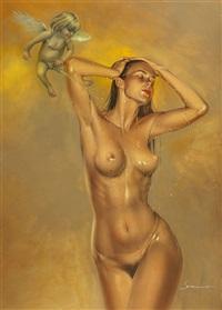 golden shower by hajime sorayama