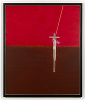 crucifixion i by craigie aitchison