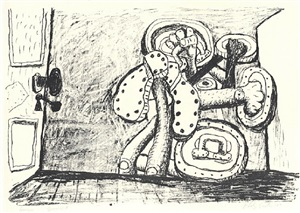 door by philip guston