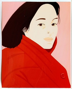 brisk day ii by alex katz