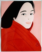 brisk day iii by alex katz