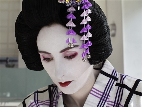the love doll/day 36 (rachel as geisha) by laurie simmons