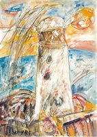 towards the lighthouse by john bellany