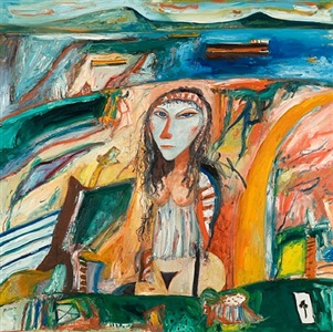 the wanton bride by john bellany