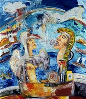 kiss of life by john bellany