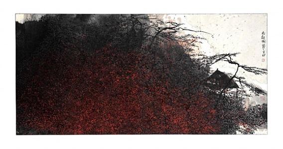 autumn view by zhu daoping