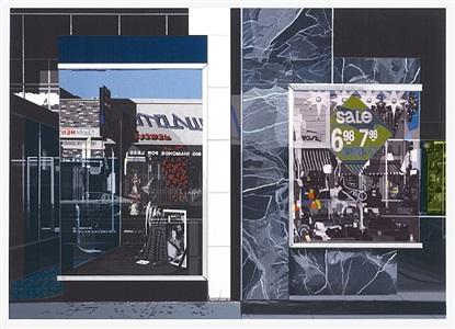 amerikanische kunst der 60er, 70er und 80er jahre aus den domberger siebdruck werkstätten by richard estes