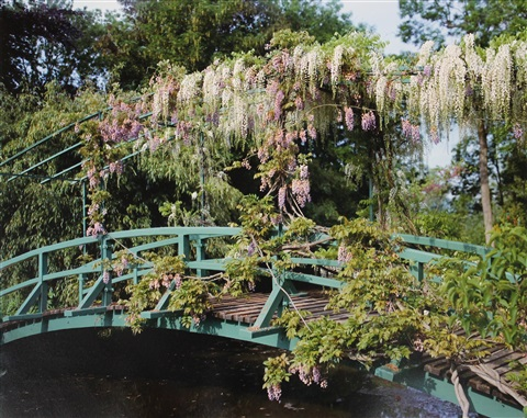 giverny 23 wisteria covered bridge by stephen shore
