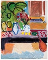 last painting by robert de niro, sr.