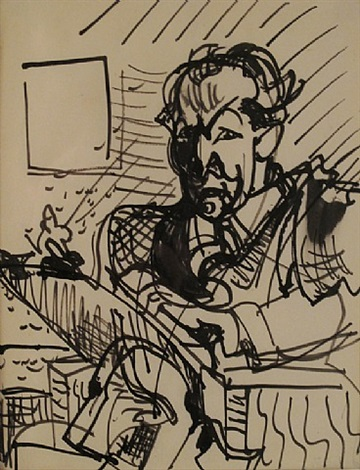 self-portrait by hans hofmann