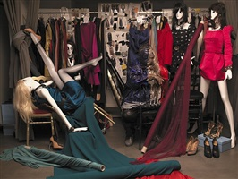 alber elbaz for lanvin by liu bolin