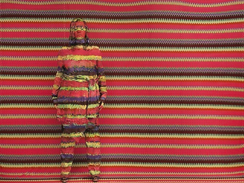 angela missoni by liu bolin