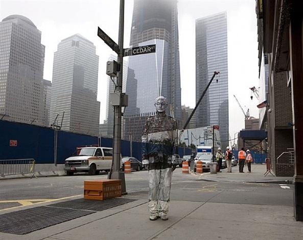 hiding in new york no. 4 -ground zero by liu bolin