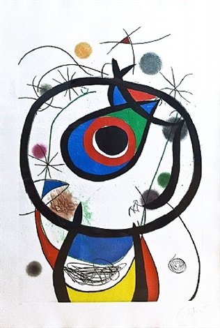 galatee (sold) by joan miró