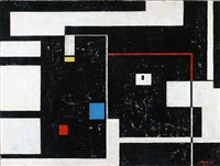 rectilinear composition by seymour fogel