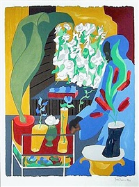 supermarket flora by jacob lawrence