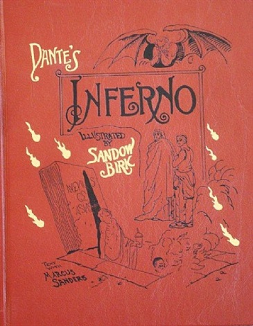 dante's inferno (cover) by sandow birk