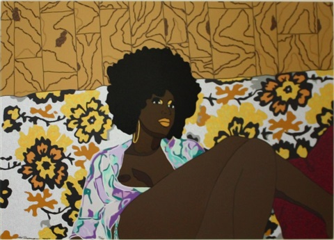cant we just sit down and talk it over by mickalene thomas