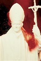 immersions (white pope) by andres serrano