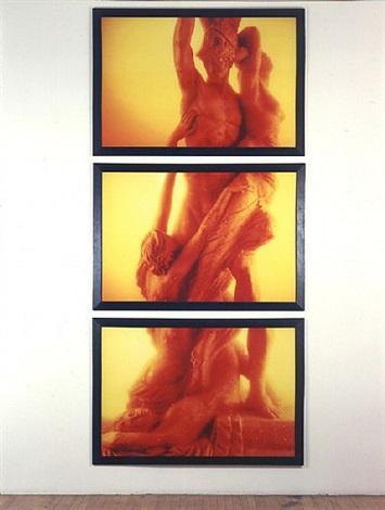 immersions (rape of the sabine women, i, ii, iii) by andres serrano