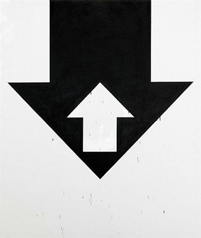 arrow painting by gardar eide einarsson