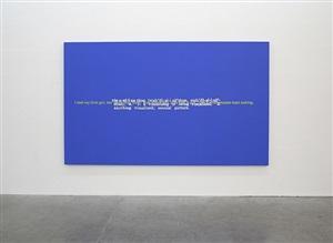 untitled (joke and definition paintings) by stefan brüggemann