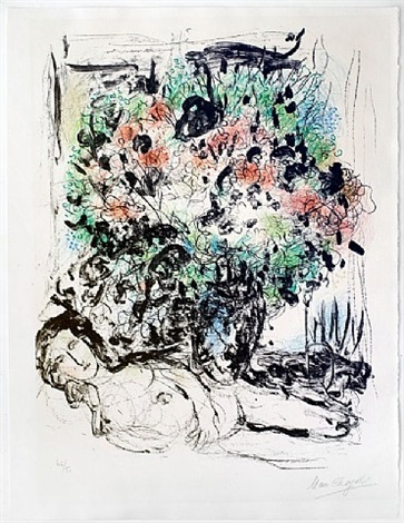 le reve (the dream) by marc chagall