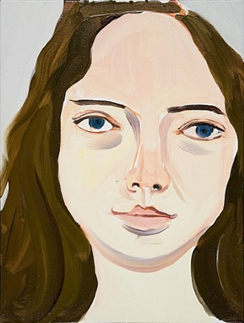 head of scarlet by chantal joffe