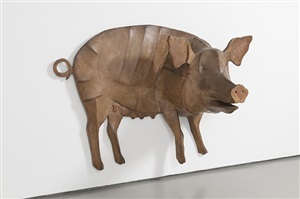 wall pig by anne arnold