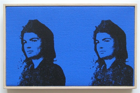 andy warhol, two jackies, 1964 by richard pettibone