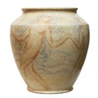 unique french art deco ceramic vase,