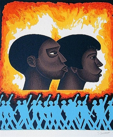 a second generation by elizabeth catlett
